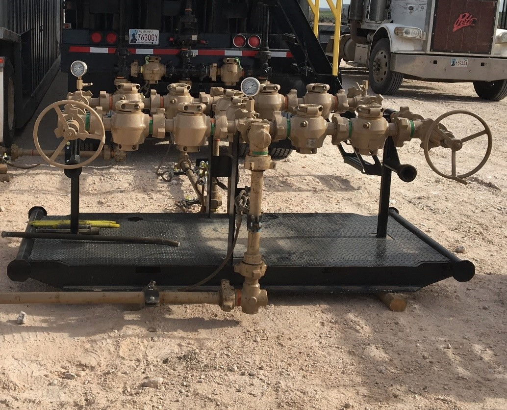 oilfield choke manifold rental