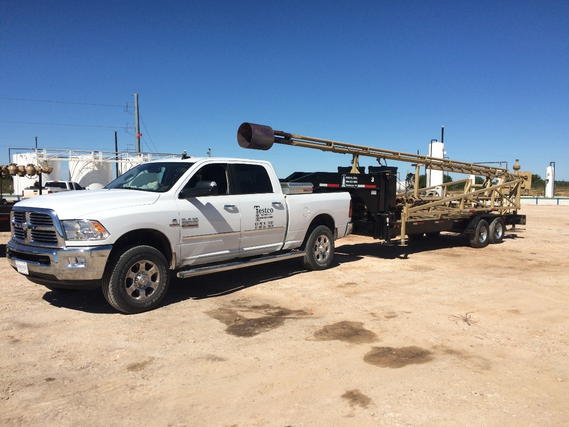 oilfield flare stack rental