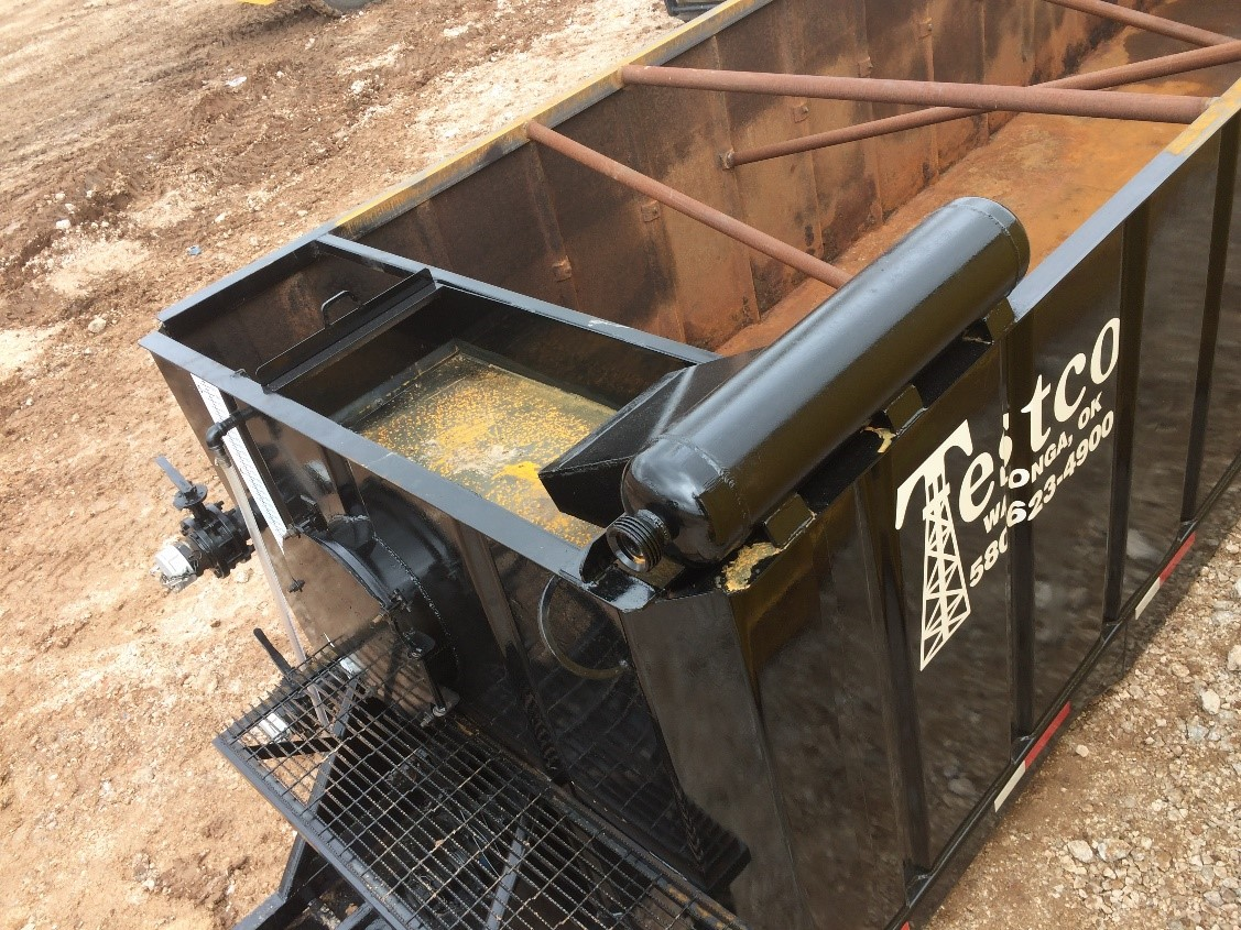oilfield half pit rental